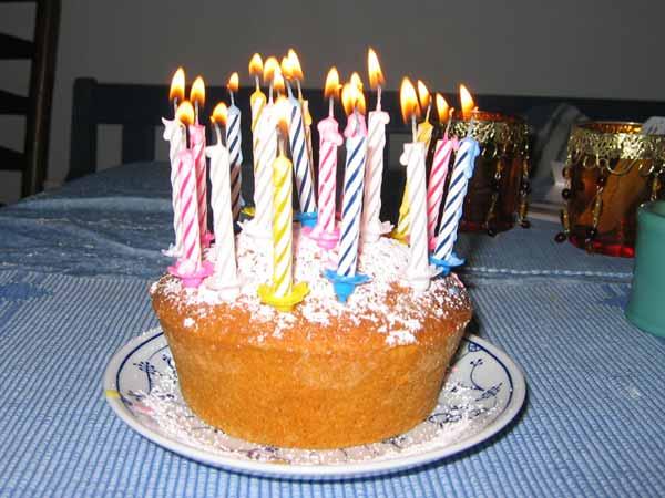 Ein Kuchen zum 20sten Geburtstag