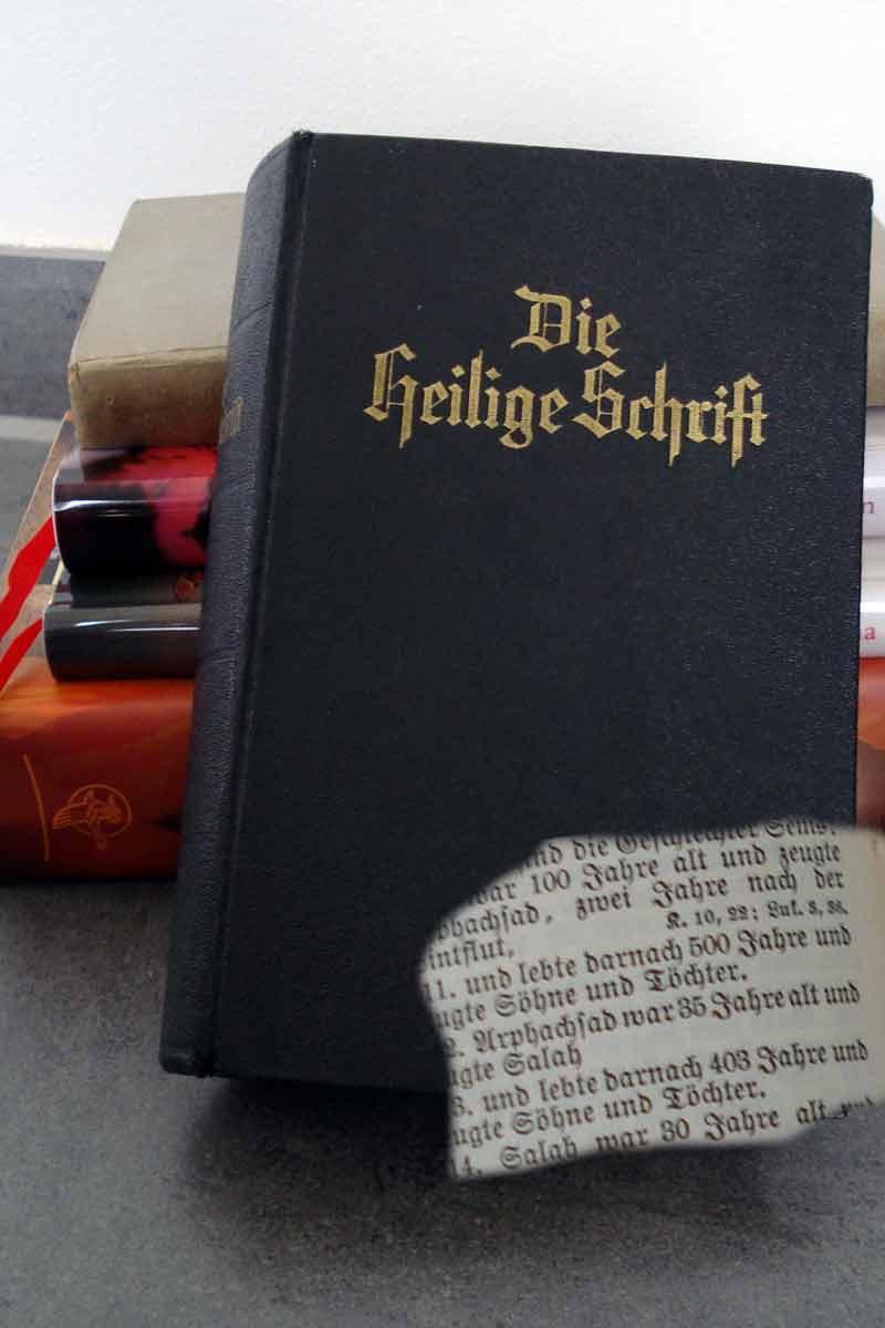 """Die """"heilige Schrift"""" meiner Oma"""