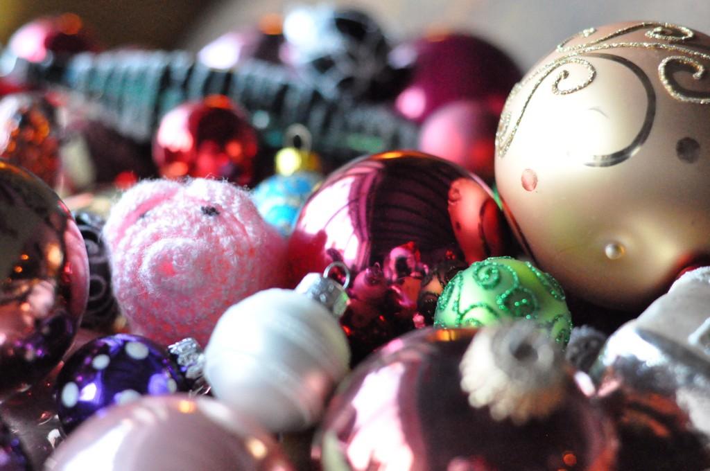 Weihnachtliche Kugeln
