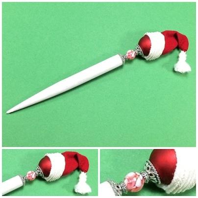 Weihnachtshaarstab von Charija