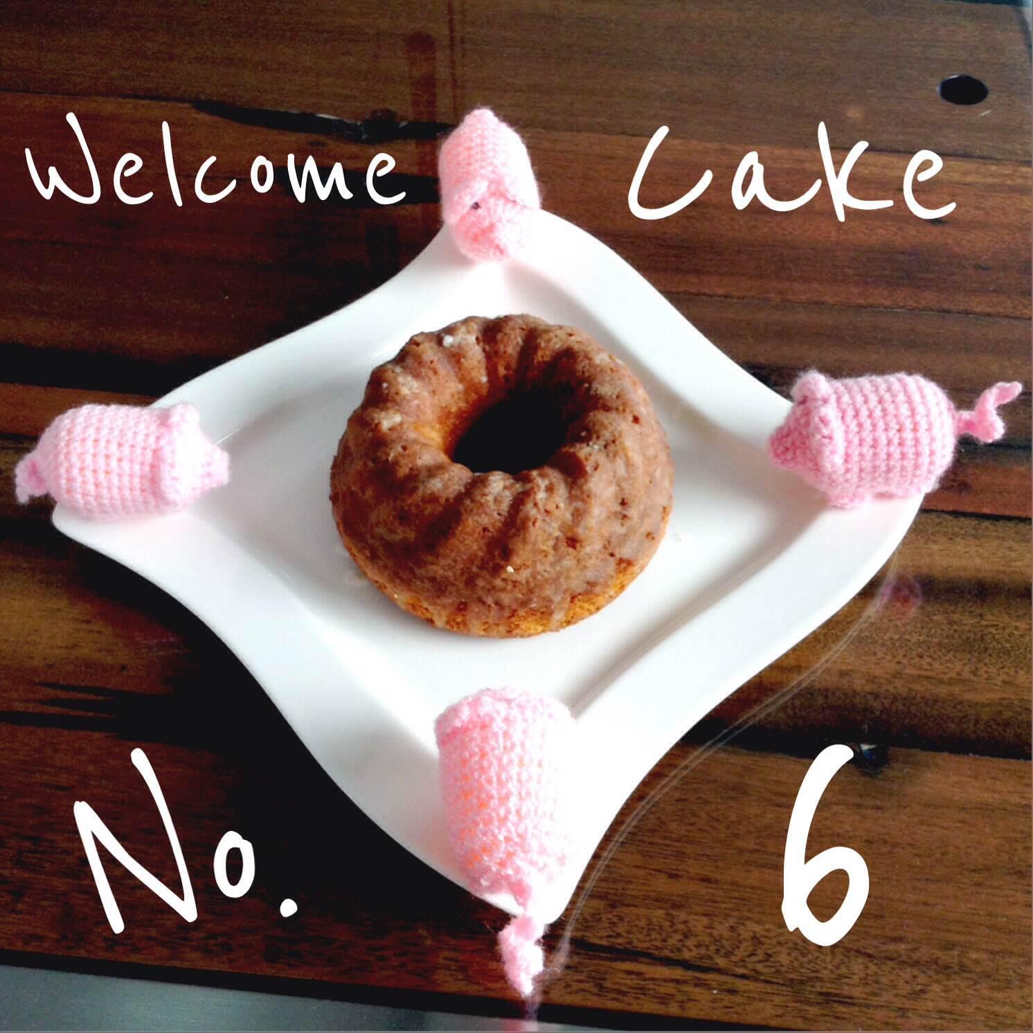 Willkommenskuchen #6 - Sandkuchen