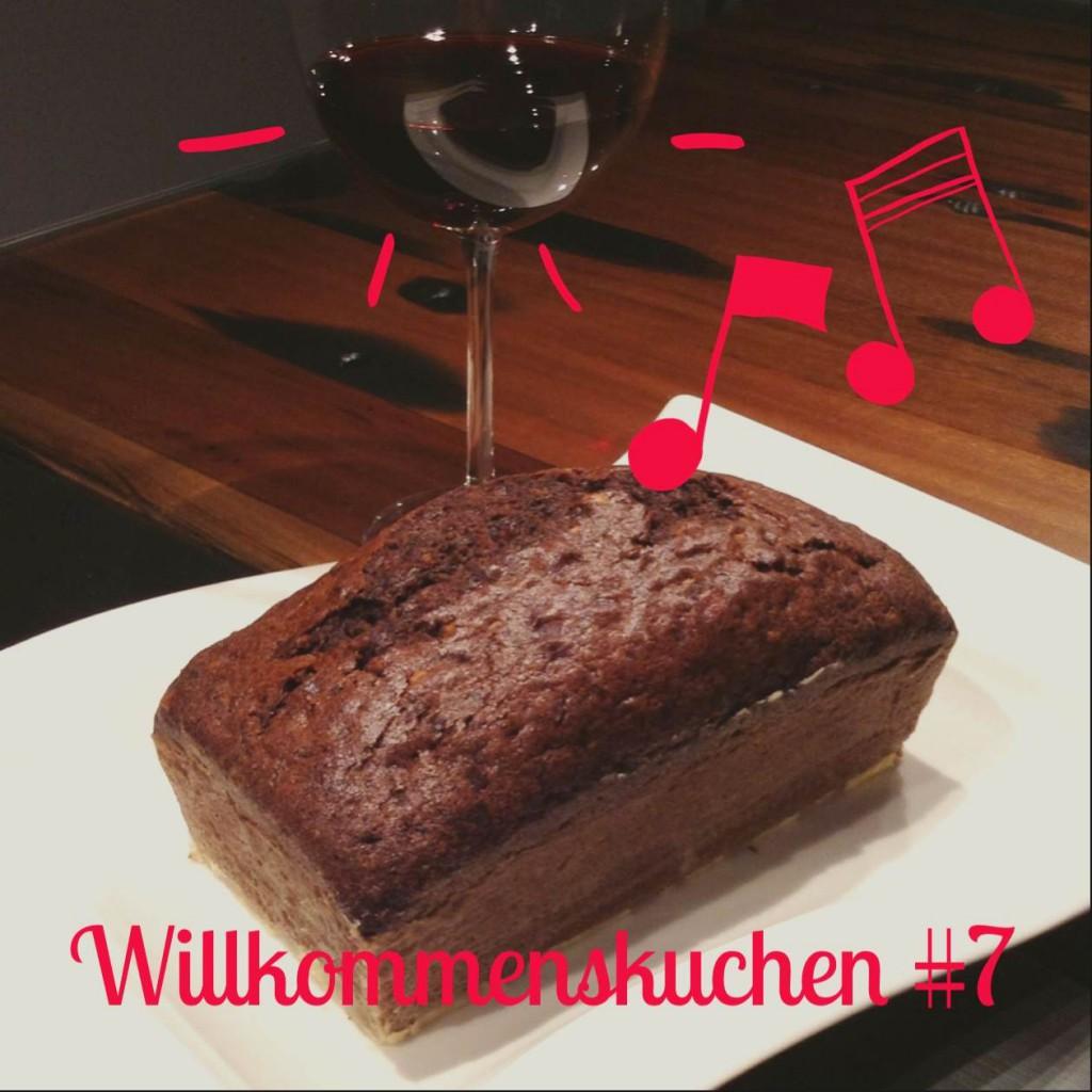 Willkommenskuchen #7 - Rotweinkuchen