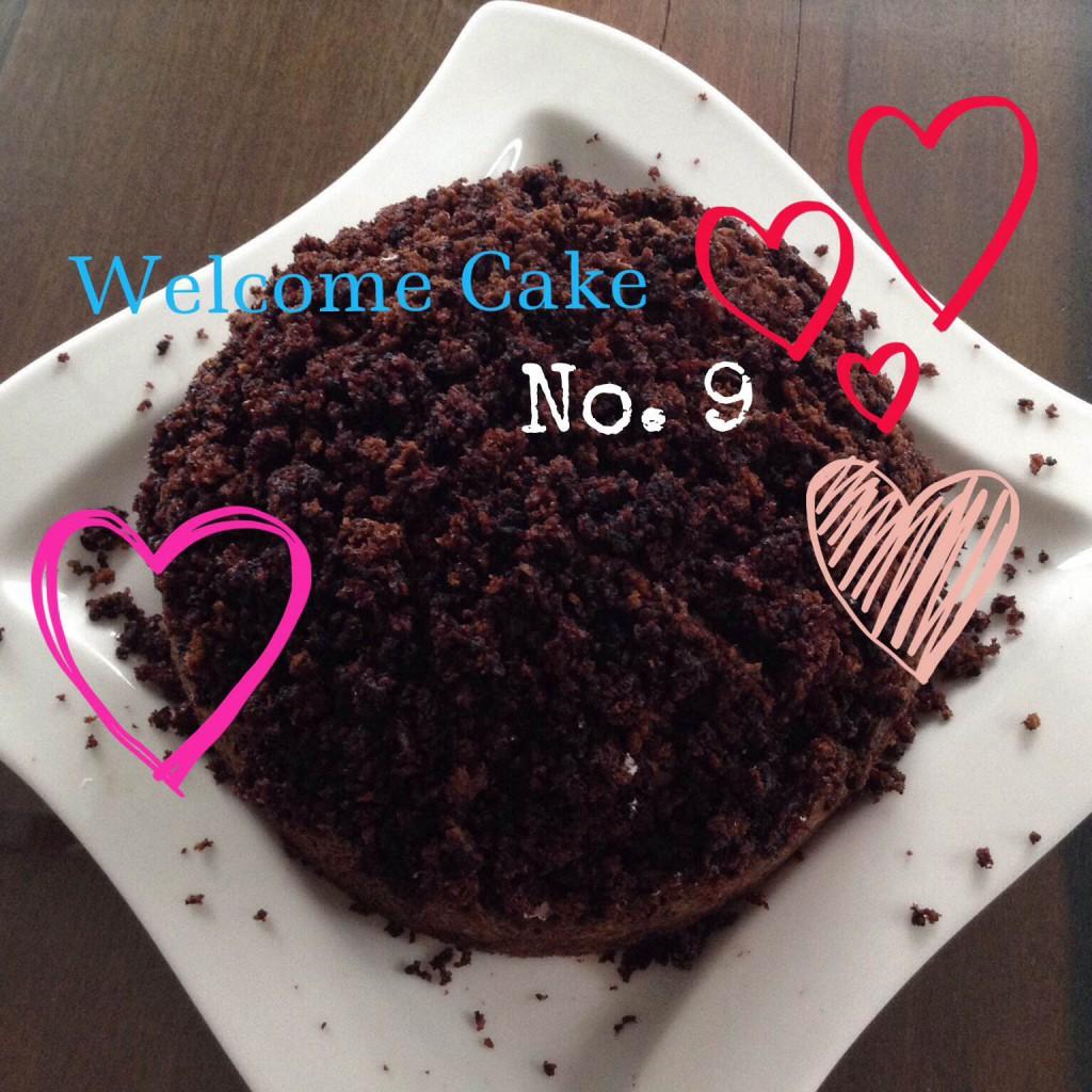 Willkommenskuchen #9 - Maulwurfkuchen