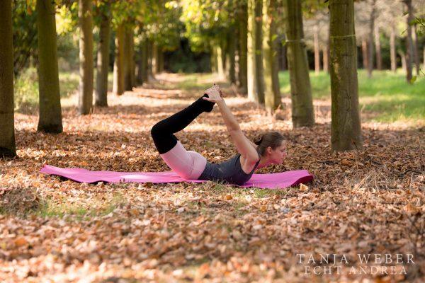 """Und irgendwann bin ich in den Schultern so flexibel, dass ich """"umgreifen"""" kann!"""